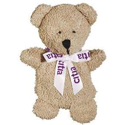 Image of 5 inch Beanie Bear with Neck Bow