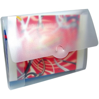Image of Polypropylene Conference Box - Frosted Clear