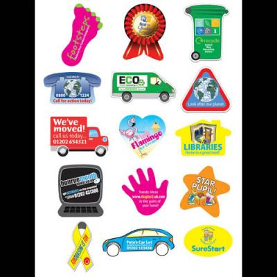 Image of Rectangular Sticker: 25 x 38mm 49 per sheet