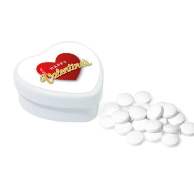 Image of Valentines Heart Tin Sugar free mints