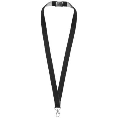 Image of Aru two-tone lanyard with hook and loop closure