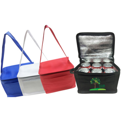 Image of Blue Knowsley Non Woven Cooler Bag