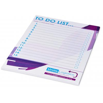 Image of Desk-Mate® A5 notepad - 25 pages